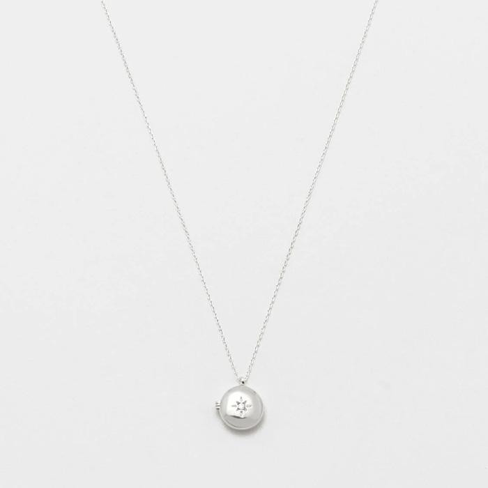 Silver Plated Locket Necklace Estella Bartlett - Buy Online UK