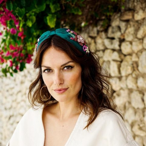 Embroidered Floral Headband by Powder - Buy Online UK
