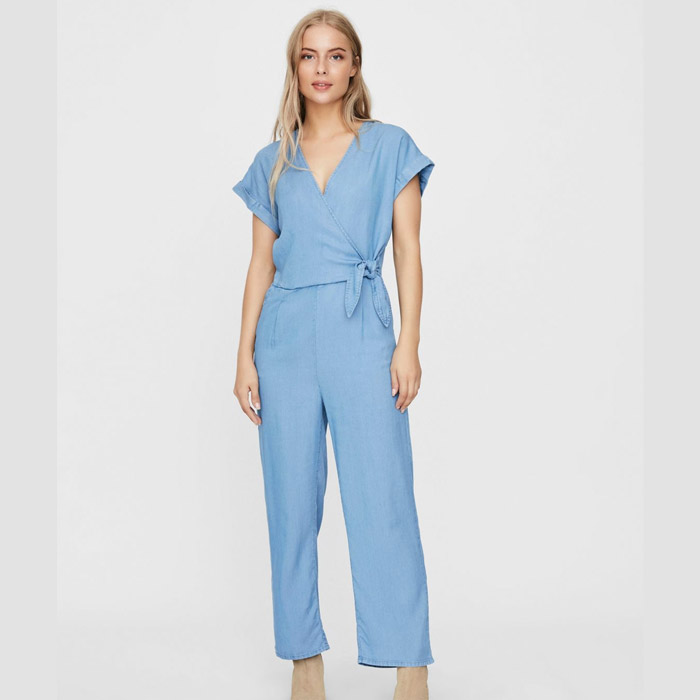 Vero Moda Light Blue Jumpsuit - Buy Online UK