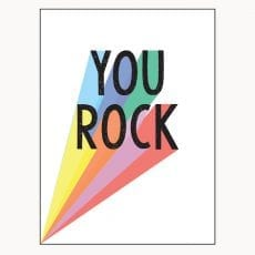 You Rock Book Perfect Gift For a Friend Buy Online UK