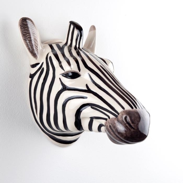 Zebra Wall Vase Quail Ceramics - Buy Online UK