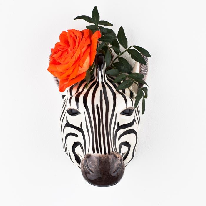 Quail Ceramics Animal Wall Vase - Buy Online UK