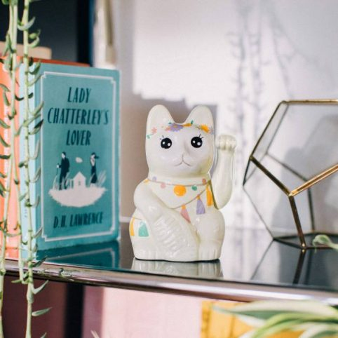 Llama lucky cat from DOIY - receive free UK delivery on all online orders over £20
