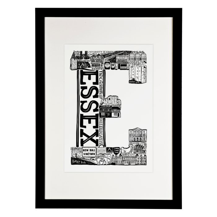 framed essex print from Lucy Loves this - for sale onlen with free UK delivery over £20