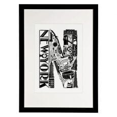 New York Print Framed - Buy Online UK