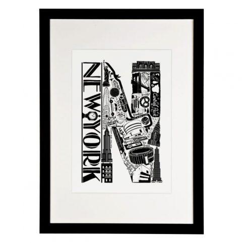 New York Print Framed - Buy Online UK