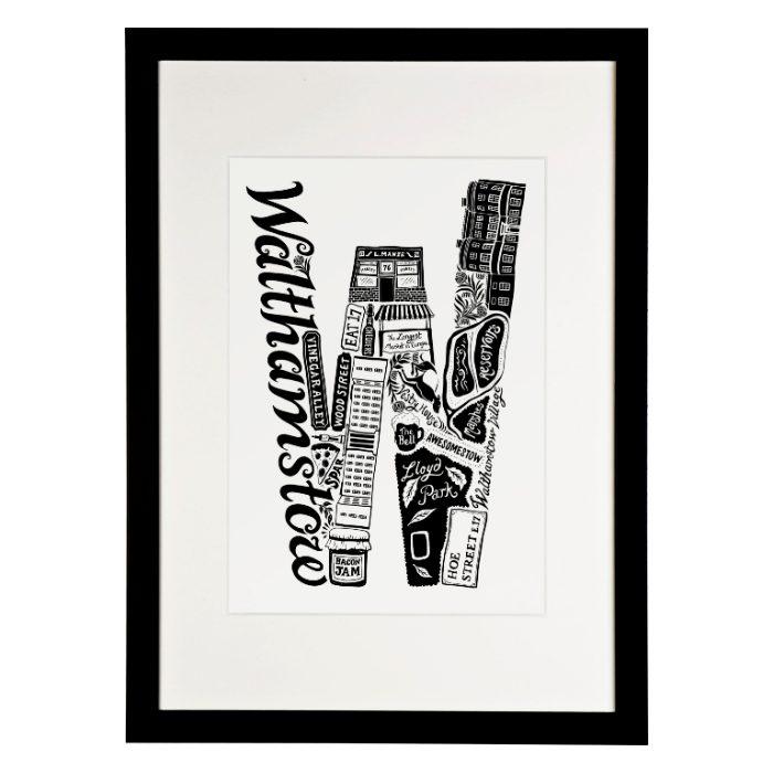 Framed Walthamstow Print - Buy Online