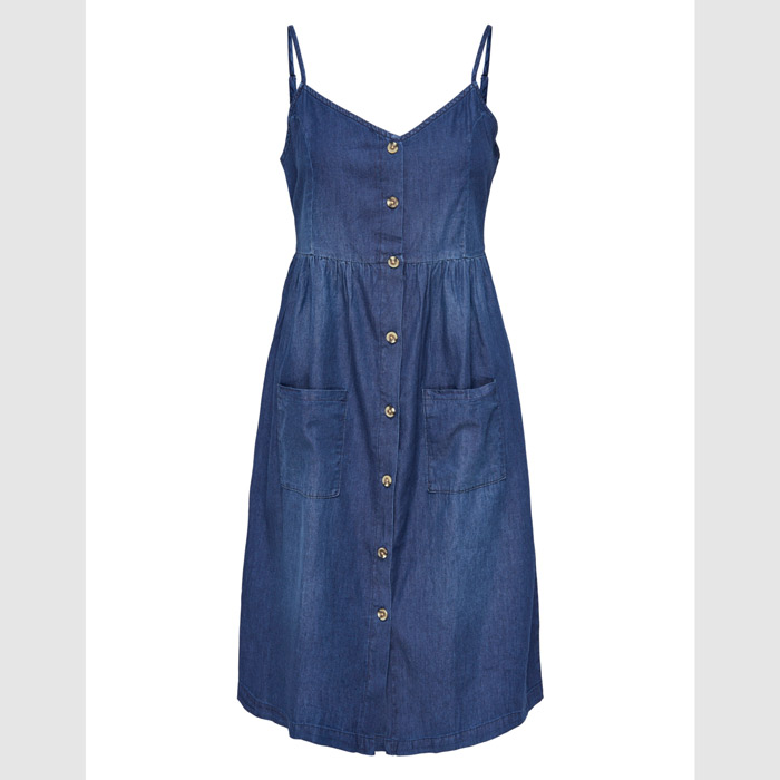 Denim Midi Dress - Buy Online UK