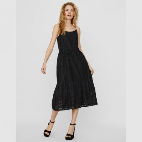 Vero Moda Black Maxi Dress - Buy Online UK