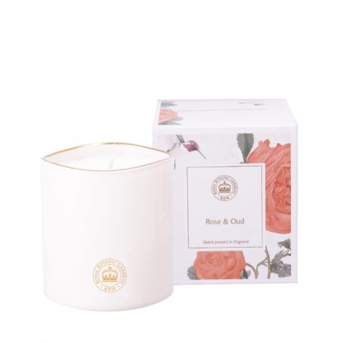 Kew Rose & Oud Candle