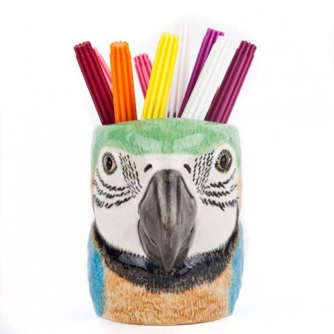 Macaw Pen Pot