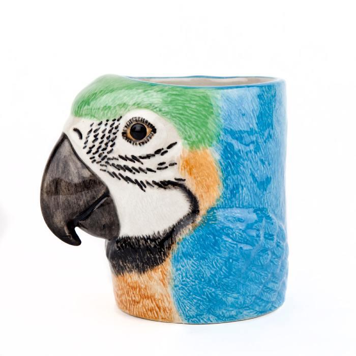 Macaw Pencil Pot