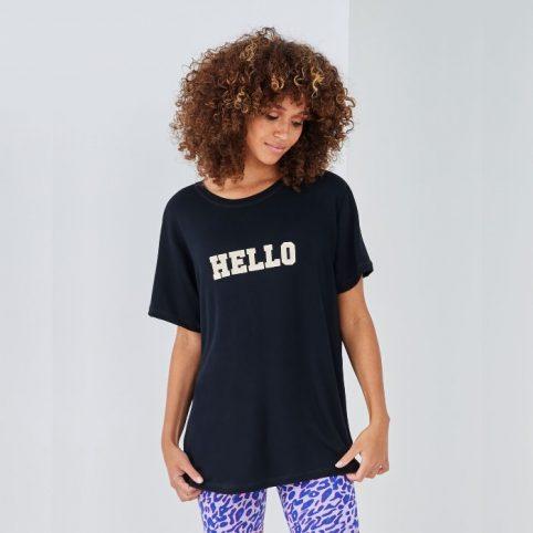 Sundae Tee Hello Print T-Shirt Buy Online