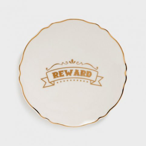 Slogan Plate Reward - Buy Online With Free UK Delivery Over £20