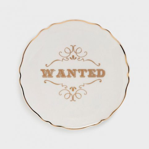 Slogan Plate Wanted - Purchase Online With Free UK Delivery Over £20