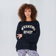 Weekend Ready Sweat Black - Buy Online UK