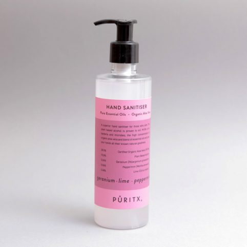 Puritx Quality Hand Sanitiser - Buy Online UK