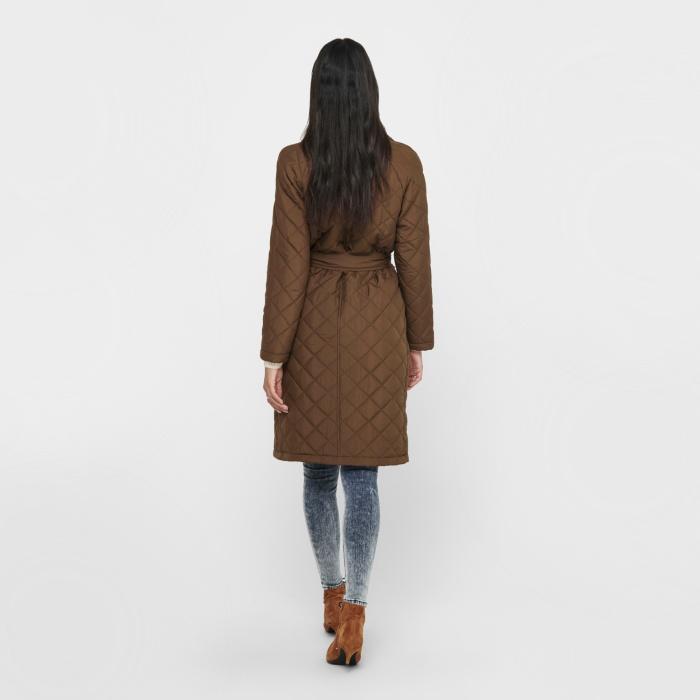 brown autumn coat