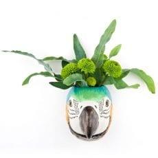 Macaw Small Wall Vase Quail Ceramics - Buy Online UK