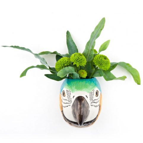 Macaw Small Wall Vase Quail Ceramics - Buy Online UK