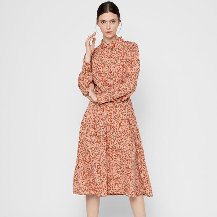 Floral Shirt Dress Autumn Winter 2020 - Buy Online UK