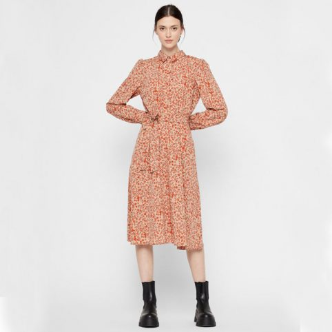 Pieces Floral Shirt Dress - Buy Online UK