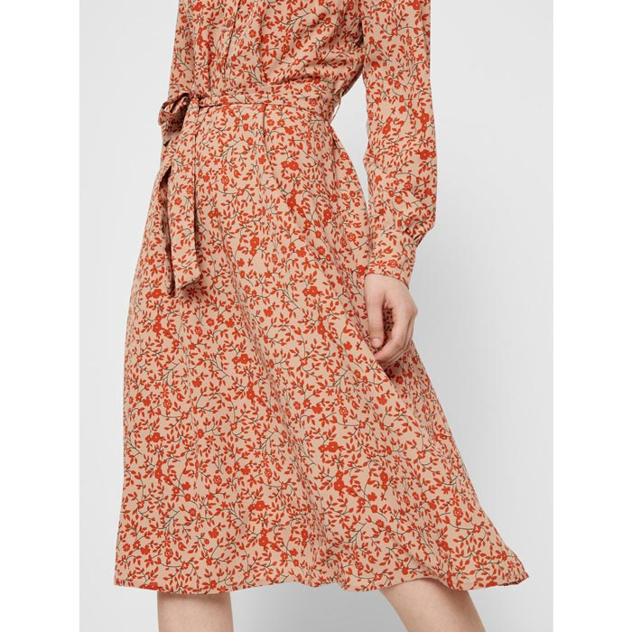 Pieces Printed Dress - For Sale Online UK
