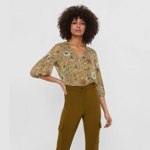 Vero Moda V-Neck Floral Top - Purchase online