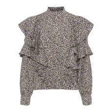 Vero Moda Ditsy Print Ruffle Blouse - Buy online UK
