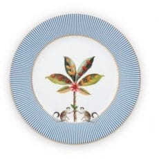 Breakfast Blue Plate La Majorelle Pip Sutdio