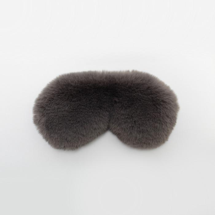 Faux Fur Eye Mask From Chalk - Buy Online