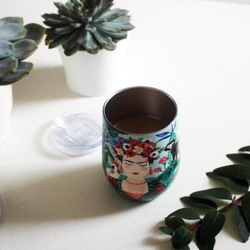 Frida Kahlo Stainless Steel Cup - Buy Online UK