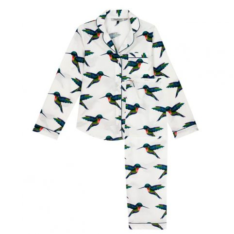 Their Nibs Hummingbird Print Pyjamas - Buy Online UK
