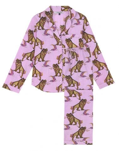Their Nibs Lion Pink Pyjamas - Buy Online UK