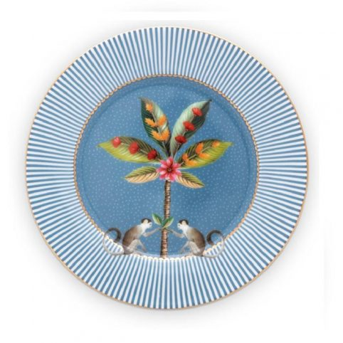 Pip Studio La Majorelle Blue Plate - buy Online UK