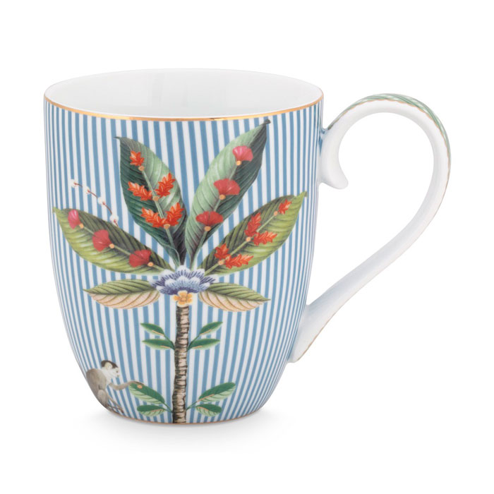 Pip Studio La Majorelle Blue Mug - Buy Online UK