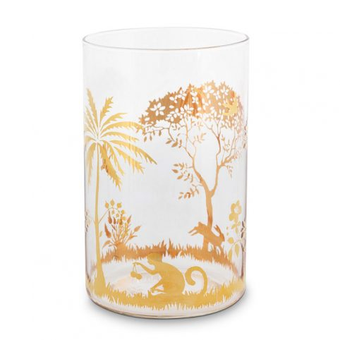 La Majorelle Tall Glass Gold - Buy Online UK