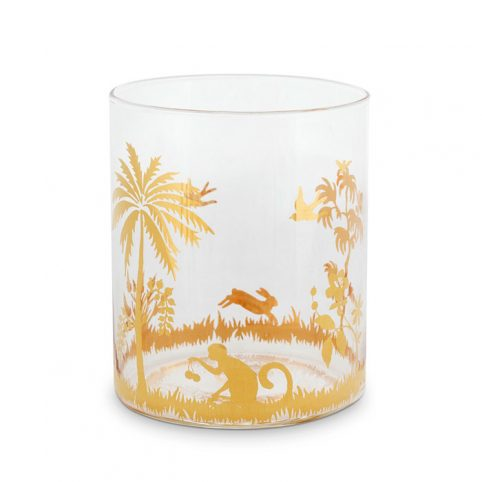 La Majorelle Gold Glass Pip Studio - Buy Online UK