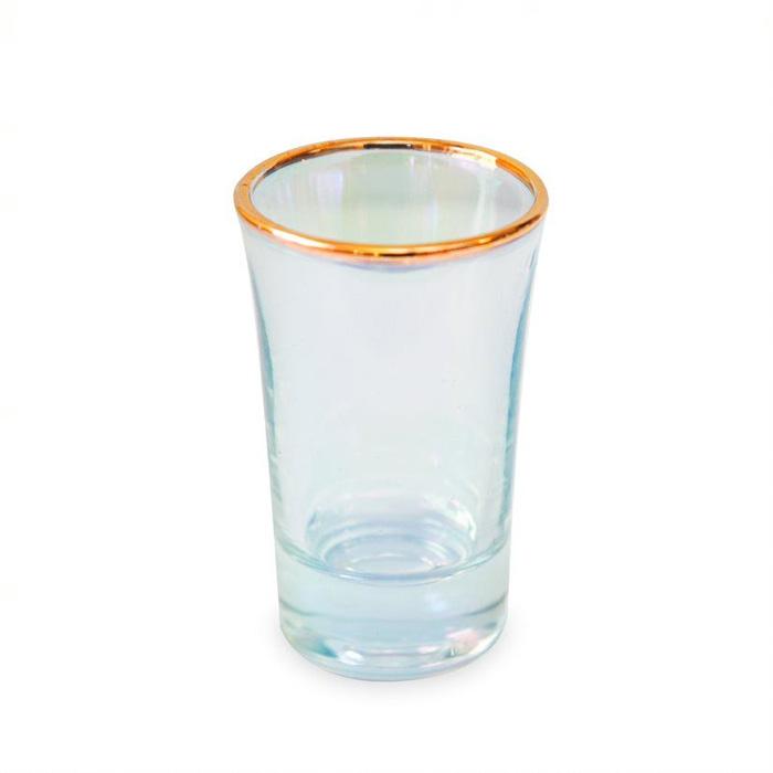 Set of Four Iridescent Shot Glasses - Buy Online UK