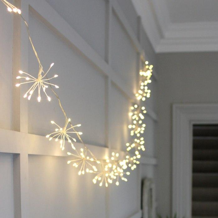 Silver Starburst Light Chain For Sale Online
