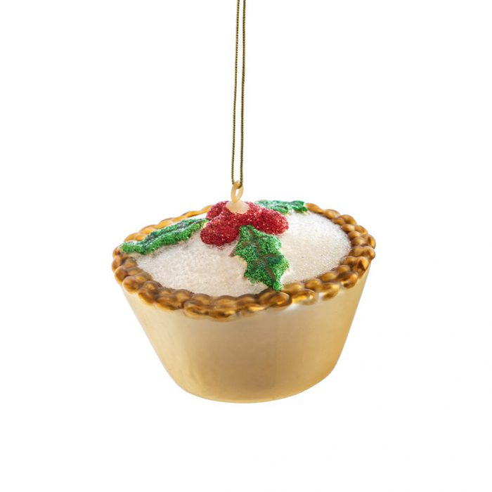 Mince Pie Bauble Decoration Buy Online With Free UK Delivery Over £20