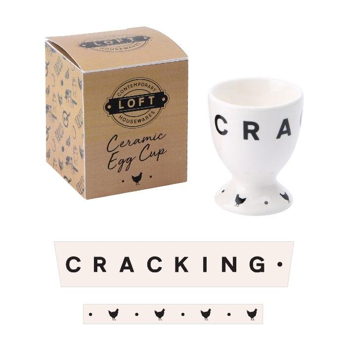 'Cracking' Ceramic Egg Cup