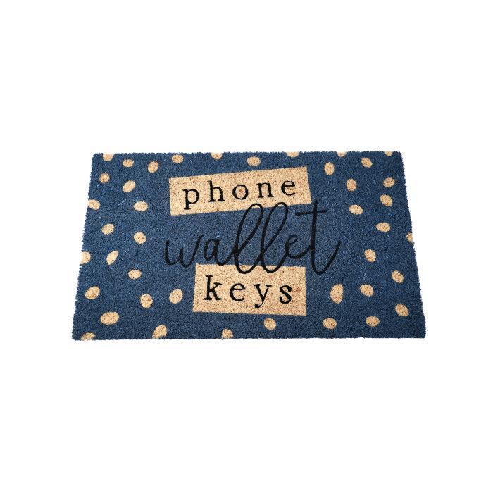 Phone Wallet Keys Doormat