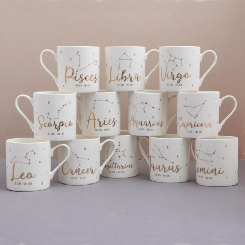 Gisela Graham Zodiac Mugs - Buy online UK