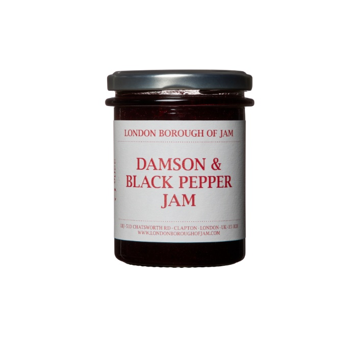 Damson and black pepper jam - enjoy free delivery when you purchase online and spend over £20