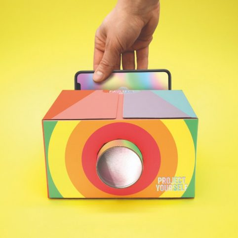 Smartphone Projector Rainbow - purchase online and receive free delivery when you spend over £20