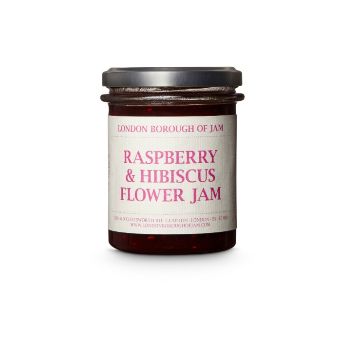 Raspberry and Hibiscus Flower Jam - Buy Online With Free UK Delivery Over £20