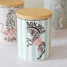 Zebra Storage Jar - Purchase online with free UK delivery over £20