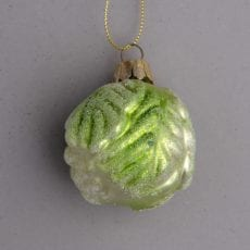 Brussel Sprout Christmas Decoration - Buy Online UK