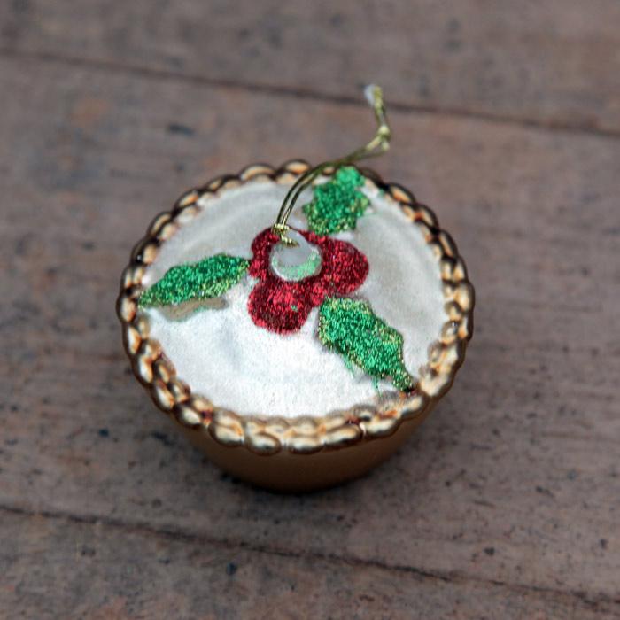 Mince Pie Bauble Decoration - Buy Online